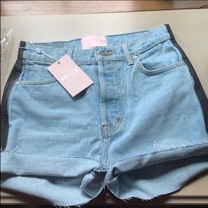 Revice Harlow denim jean shorts